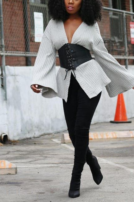 30+ Corset Belt Street Outfits To Show You What's The Next