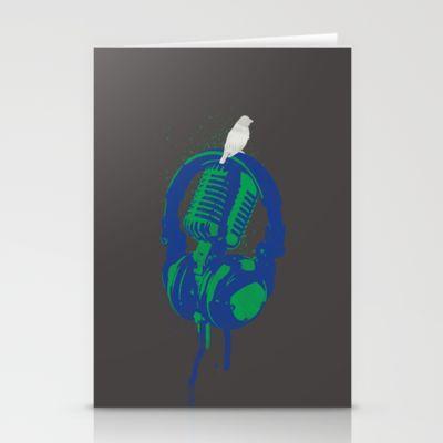 Earth Song Stationery Cards by Erik Sandi Satresa - $12.00