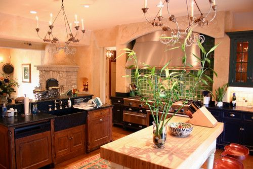 Kitchen Photos Fireplace Design, Pictures, Remodel, Decor and Ideas - page 7
