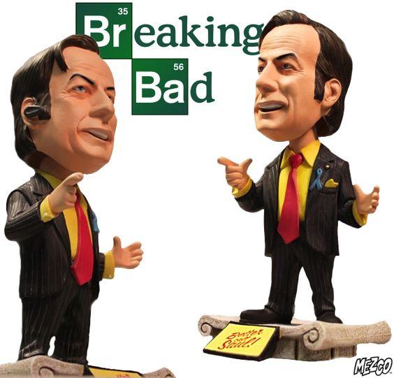 Breaking Bad Saul Goodman Red Tie Edition Bobblehead