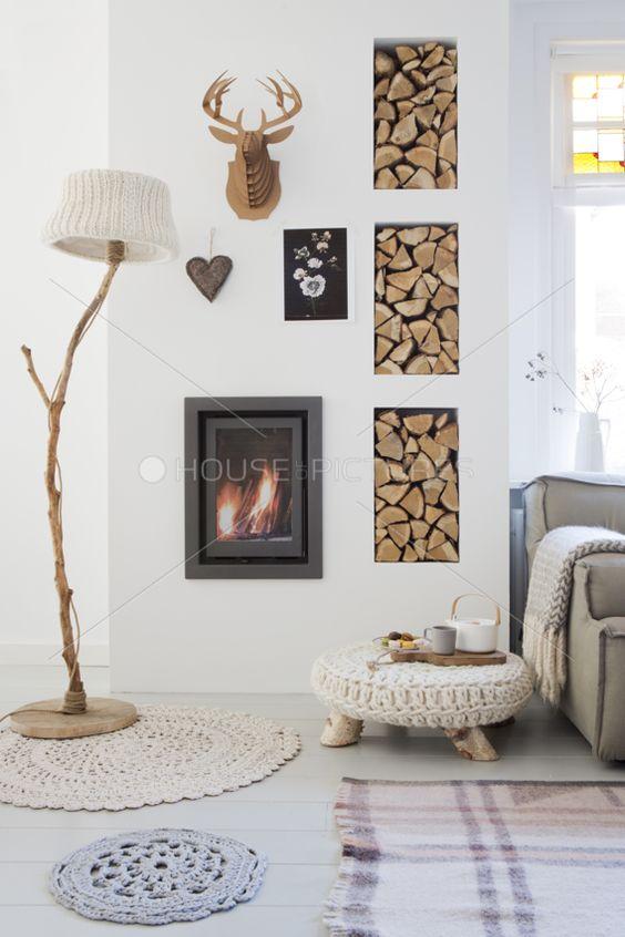 Vicky's Home: Estilo moderno, cálido y acogedor/ Modern, warm and cozy style.                                                                                                                                                     Más