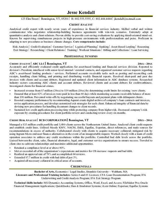 Treasury Analyst Resume Sample | Resume Samples Across All