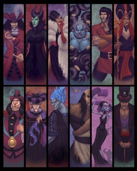 Disney. Villains oh no