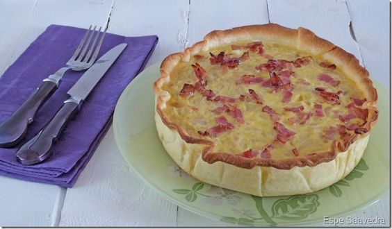 Receta de Tarta de cebolla por Espe Saavedra