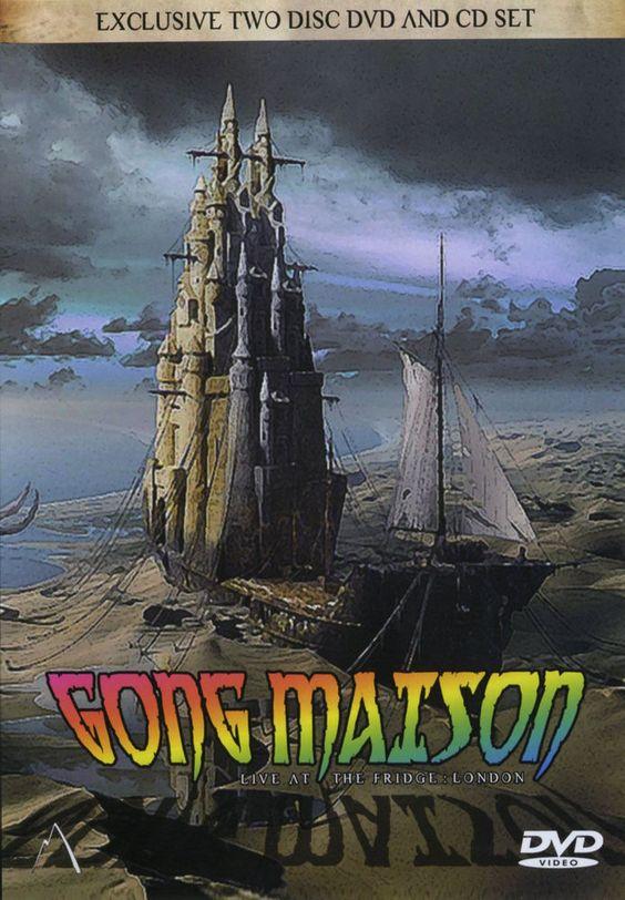 GONG Maison Live 1991 CD & DVD SET New & Sealed w/ Daevid Allen prog