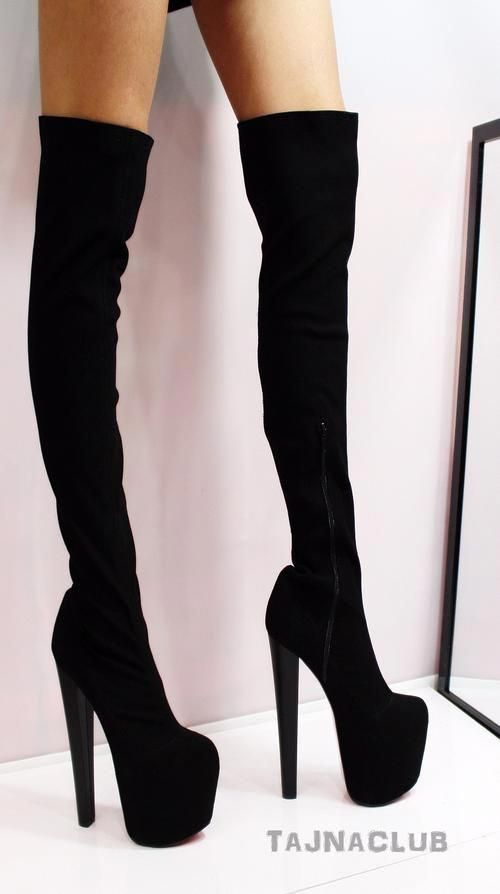 Boots High Heel Shoes
