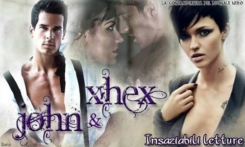 John & Xhex  #johnMatthew #xhex #johnXhex #JRWard #confraternitadelpugnalenero #BlackDaggerBrotherhood #BDB