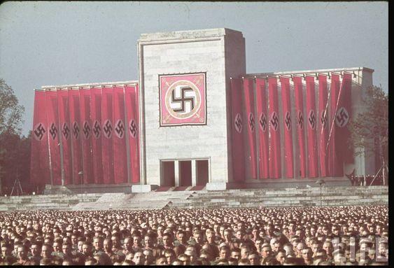 Fotos a color de la Alemania Nazi