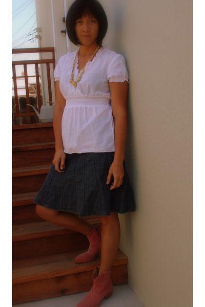 purpngreen.com blue jean skirts (25) #skirts