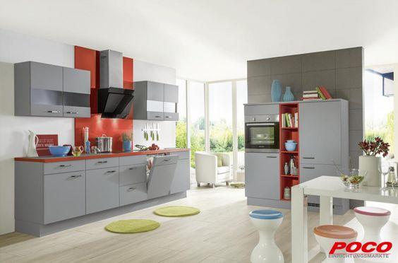 POCO Einrichtungsmärkte Doppelblock #grau Küche Pinterest - küche bei poco