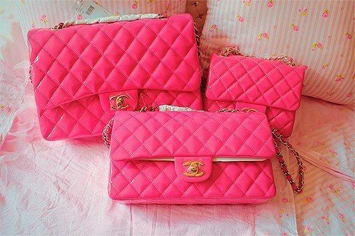 Imagem de pink, chanel, and bag