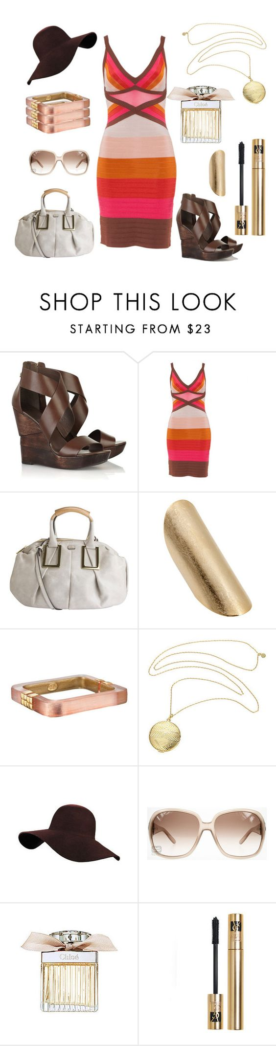 """Golden"" by velvetmansion ❤ liked on Polyvore featuring Diane Von Furstenberg, Missoni, Chloé, Soixante Neuf, Gucci and Yves Saint Laurent"