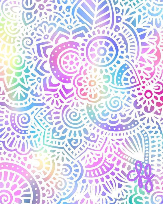 Colores felices m s fondos pinterest disney - Colores para mandalas ...