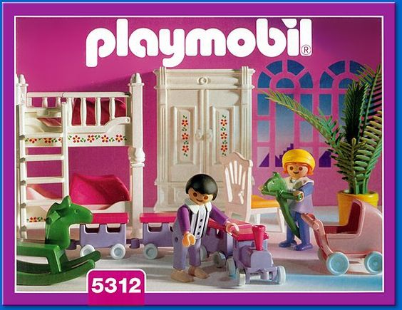 Childrens bedroom childs bedroom and playmobil on pinterest for Chambre playmobil