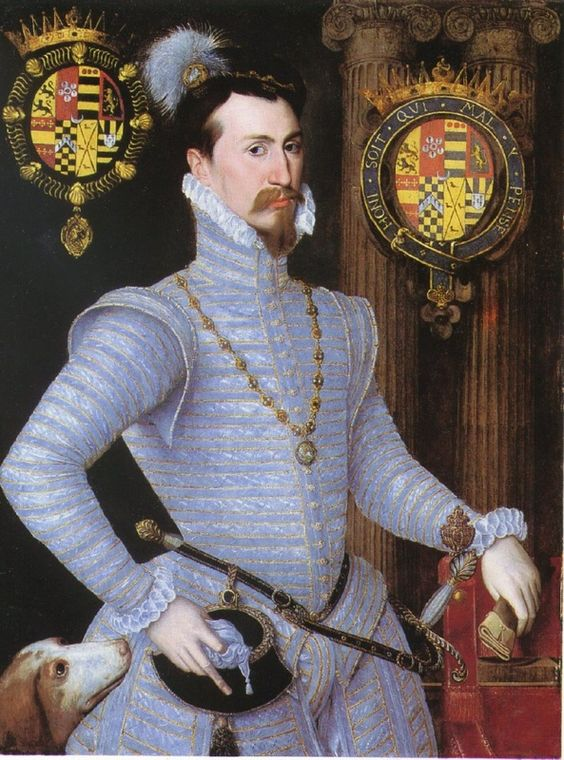 1564 - Robert Dudley, artist unknown