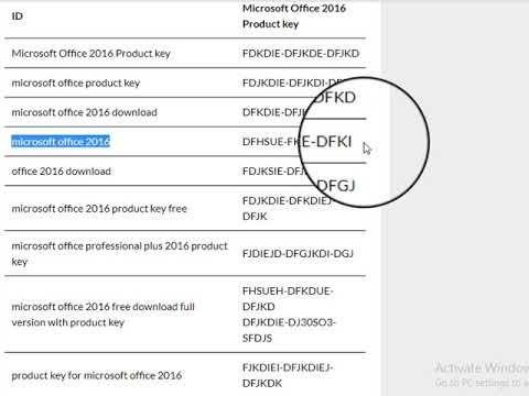 Microsoft Office Professional Plus 2016 Product Key Latest 2019 Microsoft Office Microsoft Fhe