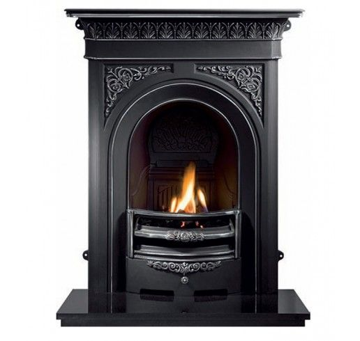 Carron Small Victorian Cast Iron Combination Fireplace In 2020