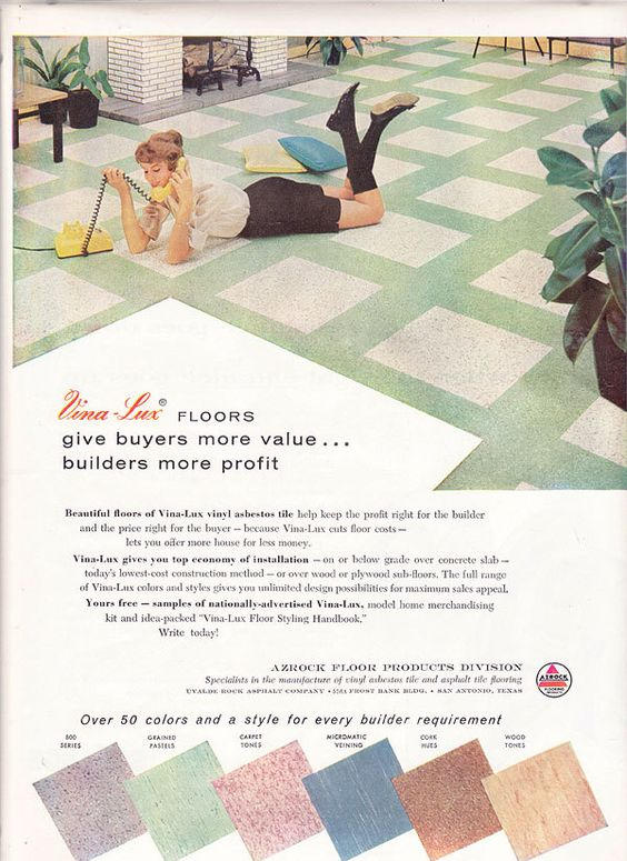 Pin By Air Allergen On Retro Living Vintage Interior Vintage Tile Flooring