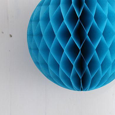 Tissue Paper Balls – Aqua