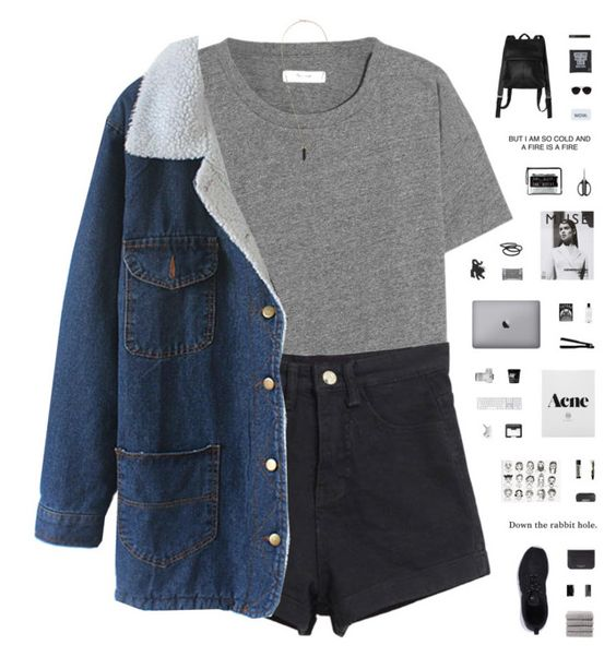"""""""4 WALLS"""" by c-hristinep ❤ liked on Polyvore featuring moda, Madewell, Isabel Marant, adidas Originals, Christy, Sophie Hulme, Narciso Rodriguez, NARS Cosmetics, NIKE e Aesop"""