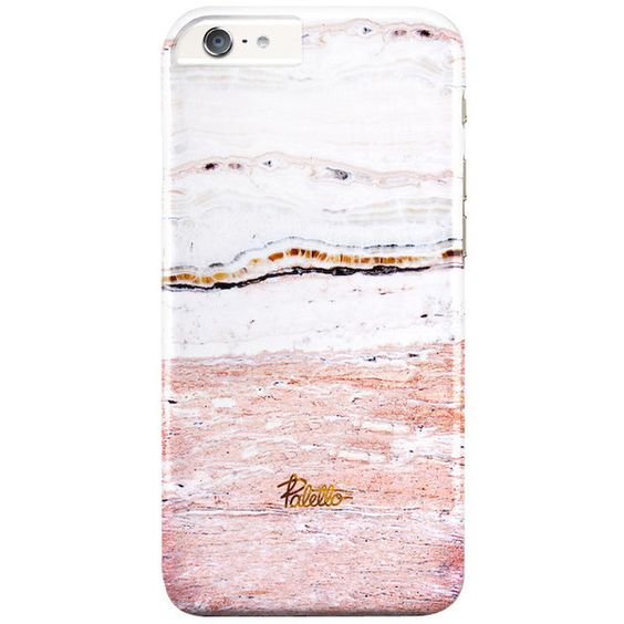 Petal / iPhone Marble Case (46 CAD) ❤ liked on Polyvore featuring accessories and tech accessories