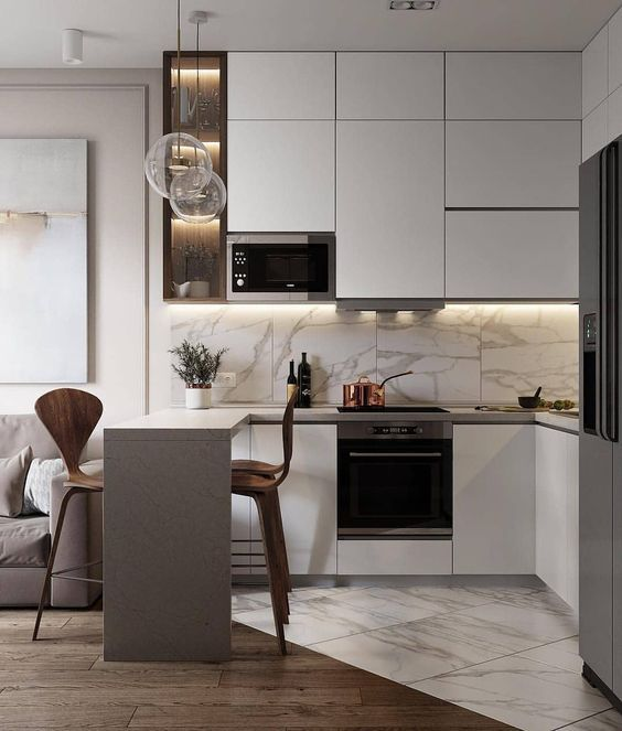 Small Kitchen Ideas 2021 Best 8 Trends And Design Solutions For 2021 Modern Kitchen Interiors Kitchen Room Design Modern Kitchen Design