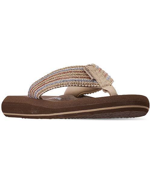 Skechers Women S Asana Flip Flop Thong Sandals From Finish Line
