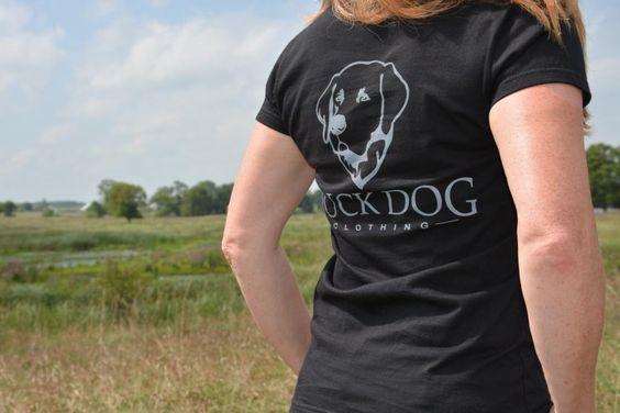 Ladies Duck Dog Clothing (Back)