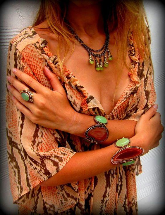 Natalie B. Jewelry - with get sliced bracelets