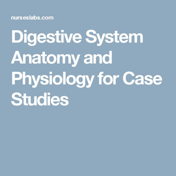 anatomy and physiology case studies