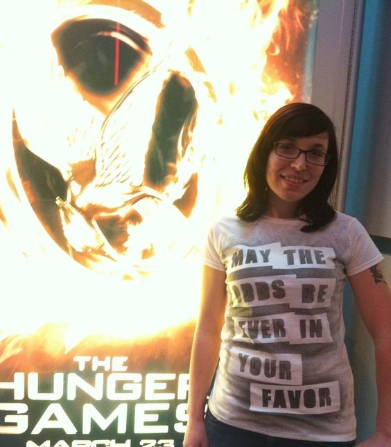 The Hunger Games T Shirt  •  Free tutorial with pictures on how to make a t-shirt in under 30 minutes