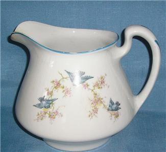 Antique Dishes Homer Laughlin   Details about Vintage Homer Laughlin Empress China Blue Bird Large ...