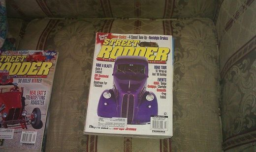 Our item, STREET RODDER MARCH 1998, is available.  Click image to buy. ($8.99)
