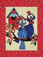 Spring Fling Low-Sew Wall Hanging Pattern