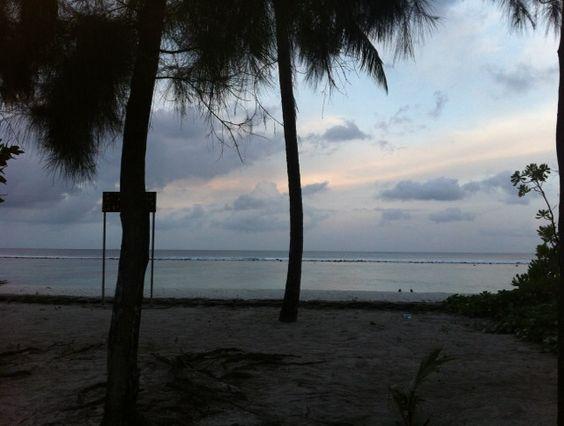 Hulhumale' beach
