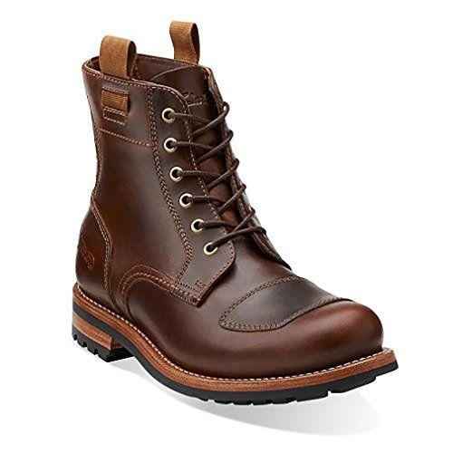 Clarks Men's Norton Rise,Cognac Leather,US 7.5 M | Shoes for