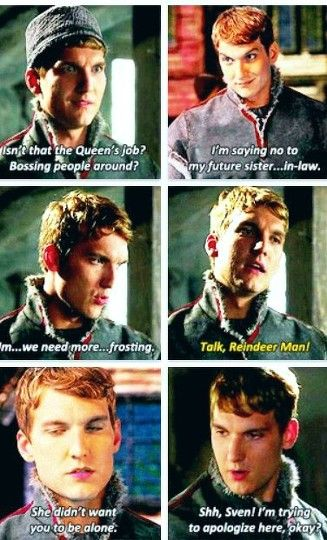 #OUAT #Kristoff  He is adorable. Absolutely adorable.