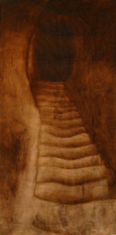 Ascend  Oil on canvas  © Patricia Benitez