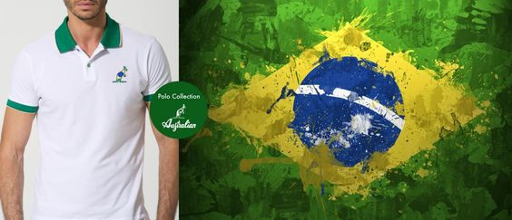 Australian non è solo #tennis ma passione per tutto lo #sport.  La nostra #Polo con la bandiera del #Brasile è pronta per essere acquistata nel nostro store. #Brasile #Brazil #Mondiali #Mondiali2014 #WorldCup #WorldCup2014