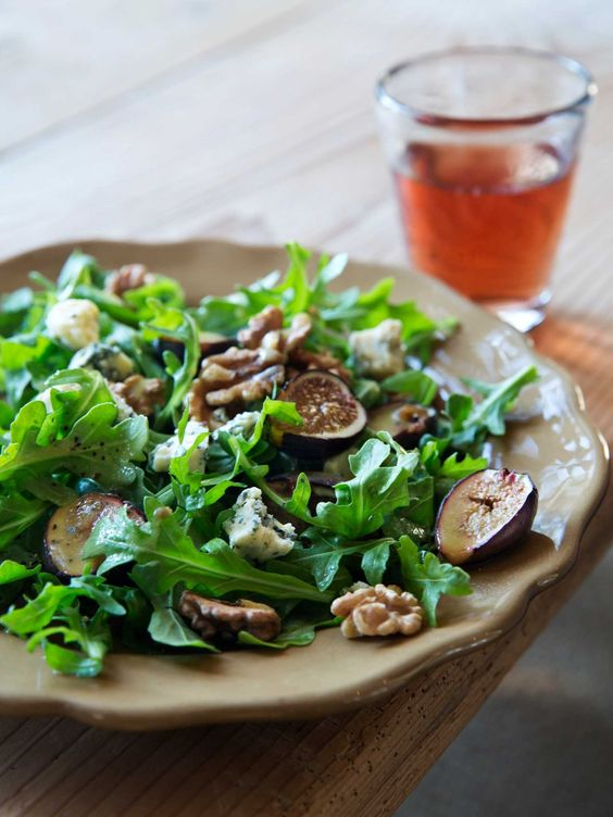 Scrummy Warm Arugula Salad Recipe — Dishmaps