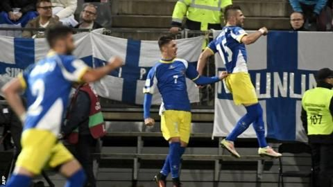 World Cup 2018: Kosovo earn historic point in their first ever competitive match - BBC Sport