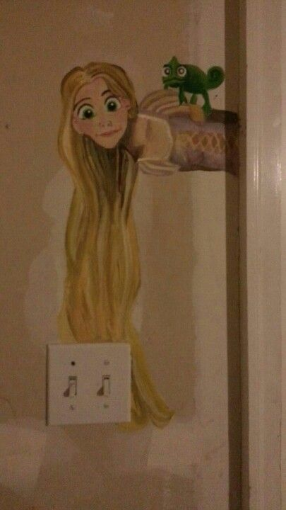 This is what I did today(: My goal is to Disney up my whoke garage like this.
