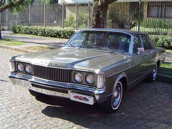 O Galaxie Landau já foi o carro mais caro do país e serviu como veículo oficial da Presidência da República