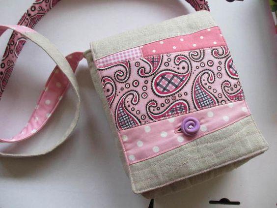 """Schultertaschen - Patchwork- Tasche """"Sanna"""" - ein Designerstück von my-himmerland bei DaWanda"""