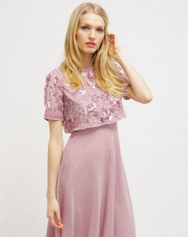 L'abito ideale se sei testimone di nozze #wedding #dress #ispiration #pink
