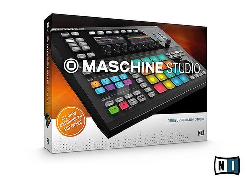 "Native Instruments Maschine Studio is the ultimate groove production system of the current ""Maschine"" range. This new combined package includes the controller hardware, a softwaresampler/-synthesizer and a clip-based pattern sequencer. The music production system Maschine Studio enables tactile, creative beatmaking on a new level. More Info / Available here: http://www.recordcase.de/en/Native+Instruments+Maschine+Studio+black.htm?pid=Google-Ehlen"