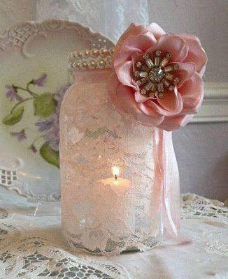 10 ideas para decorar frascos de vidrio espectaculares for Ideas con frascos de vidrio