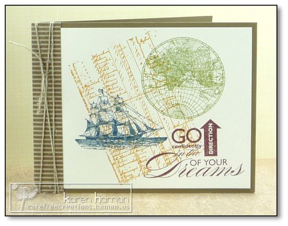 Sail Toward Your Dreams kth by kthaman - Cards and Paper Crafts at Splitcoaststampers