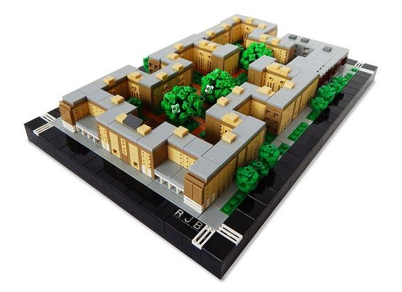 Rosenwald Apartments are impressive and tiny