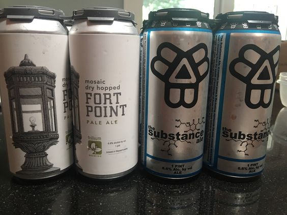 Favorite purchases of a vacation up to New England #FavoriteBeers #summershandy #beers #footy #greatnight #beer #friends #craftbeer #sun #cheers #beach #BBQ